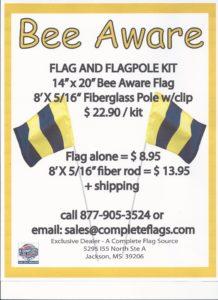 Beeaware Flag 001