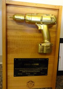 Fred Mann award